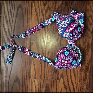 Tommy Bahama print pearl halter top